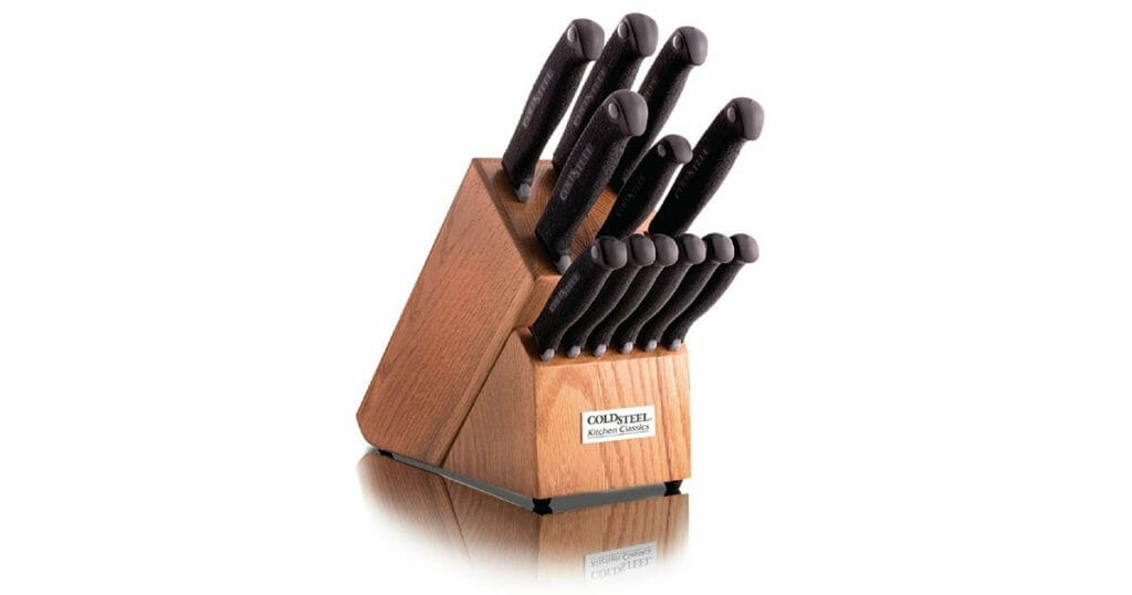 Cold Steel Kitchen Knife Set