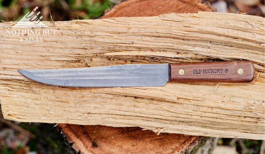 The 8 Inch Slicing knife is handy indoors or out.