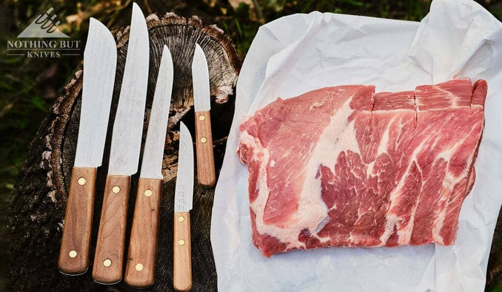 The Old Hickory 705 set is great, but it does require more maintenance than other butcher knife sets.